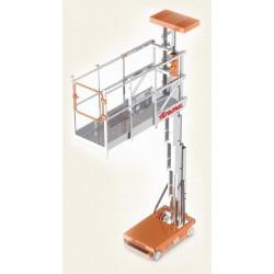 Elevadora Eléctrica 8m cesta extensible. Diagrama