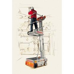 Elevadora Eléctrica de 5 metros diagrama