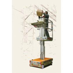 Elevadora Manual de 5 m con cesta picking. Diagrama
